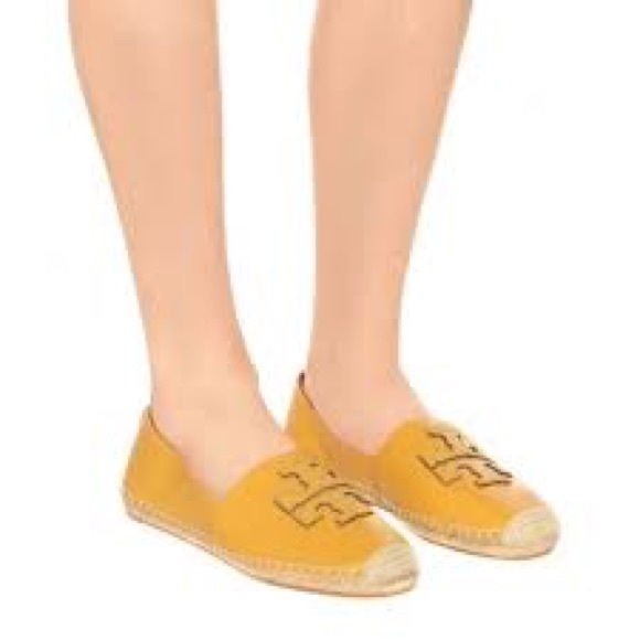 Tory Burch Leather Ines Espadrille